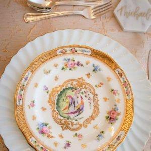 wedding fine china