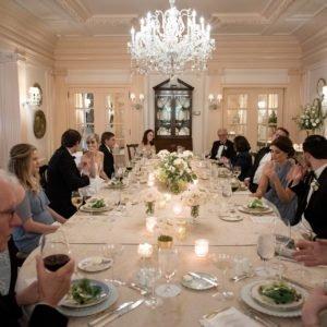 wedding atlanta dinner